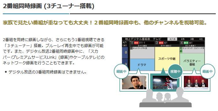 三菱 32V型 液晶テレビ REAL LCD-A32BHR9